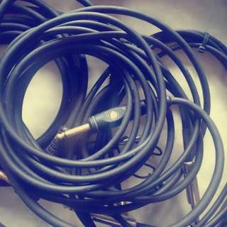 Guitar Cable unused (price for each)