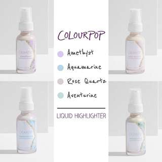 Colourpop Crystal Liquid Highlighter 25ml 100% original Usa new