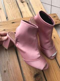 Topshop socks heels