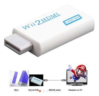 Wii input to HDMI 1080P HD audio output converter