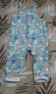 Pre-loved floral print jumper