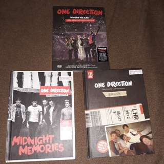 ONE DIRECTION LIMITED EDITION MERCH BUNDLE
