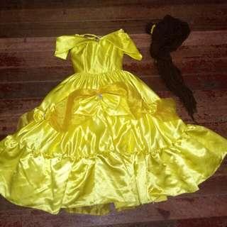"Disney gown ""Princess Belle"""