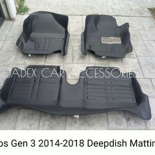 VIOS GEN 3 DEEPDISH MATTING