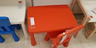 ($19) Ikea Kids Table And Chairs