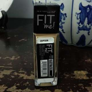 Maybelline Fit Me 220 Natural Beige NETT