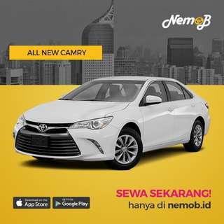 Promo Sewa Camry + Dekor Bunga di Jakarta Hanya di Nemob.id