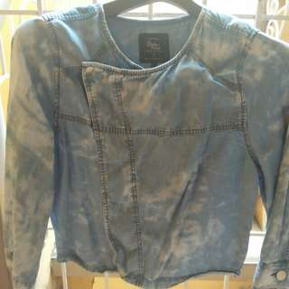 Cotton On Outer Wear Dyed Style Denim