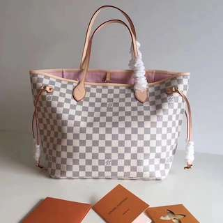 Louis Vuitton Neverfull MM In Damier Azur (Just look at the price without looking at quality.Please bypass,Tq)