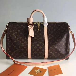 Louis Vuitton Keepall Bandouliere 45/50 (Just look at the price without looking at quality.Please bypass,Tq)
