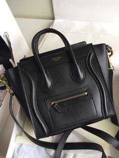 Celine Nano Luggage Calfskin (Just look at the price without looking at quality.Please bypass,Tq)
