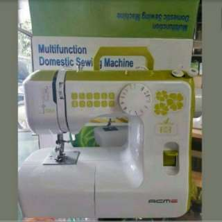 ACME MULTIFUNCTION PORTABLE SEWING MACHINE MODEL 588 CANDY SERIES, GREEN