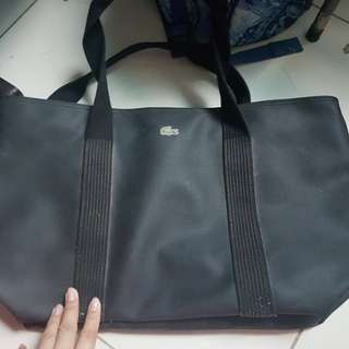 Black Lacoste Bag