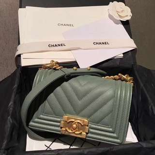 Chanel 2018 Cruise Leboy Bag (Just look at the price without looking at quality.Please bypass,Tq)