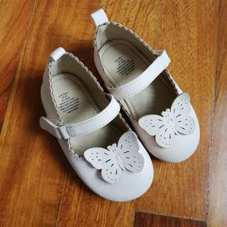 Butterfly pram shoes