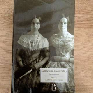 Sense and Sensibility by Jane Austin ed by Kathleen James-Cavan Broadview