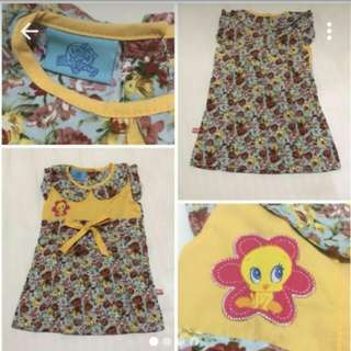 Looney tunes baby dress