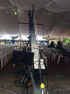 Jib crane 12meter for Dv camera for sale - all set - Reason for sale- want to upgrade-