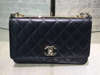 Chanel Trendy CC WOC (Just look at the price without looking at quality.Please bypass,Tq)