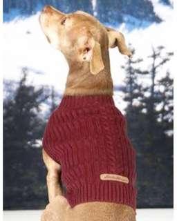 Eddie Bauer Pet sweater
