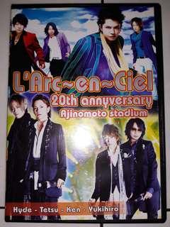 DVD Konser L'Arc~En~Ciel Ajinomoto Stadium