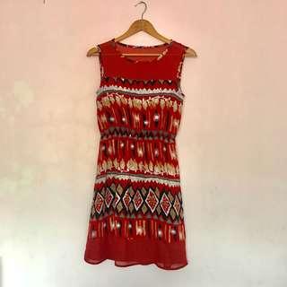 CLN Aztec Tribal Dress