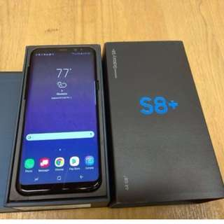 全新Samsung Galaxy S8 Plus雙卡64GB BLACK 水貨 無保  有意WHATSAPP: 94814651
