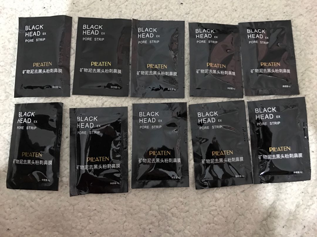 10pcs Blackhead Masks