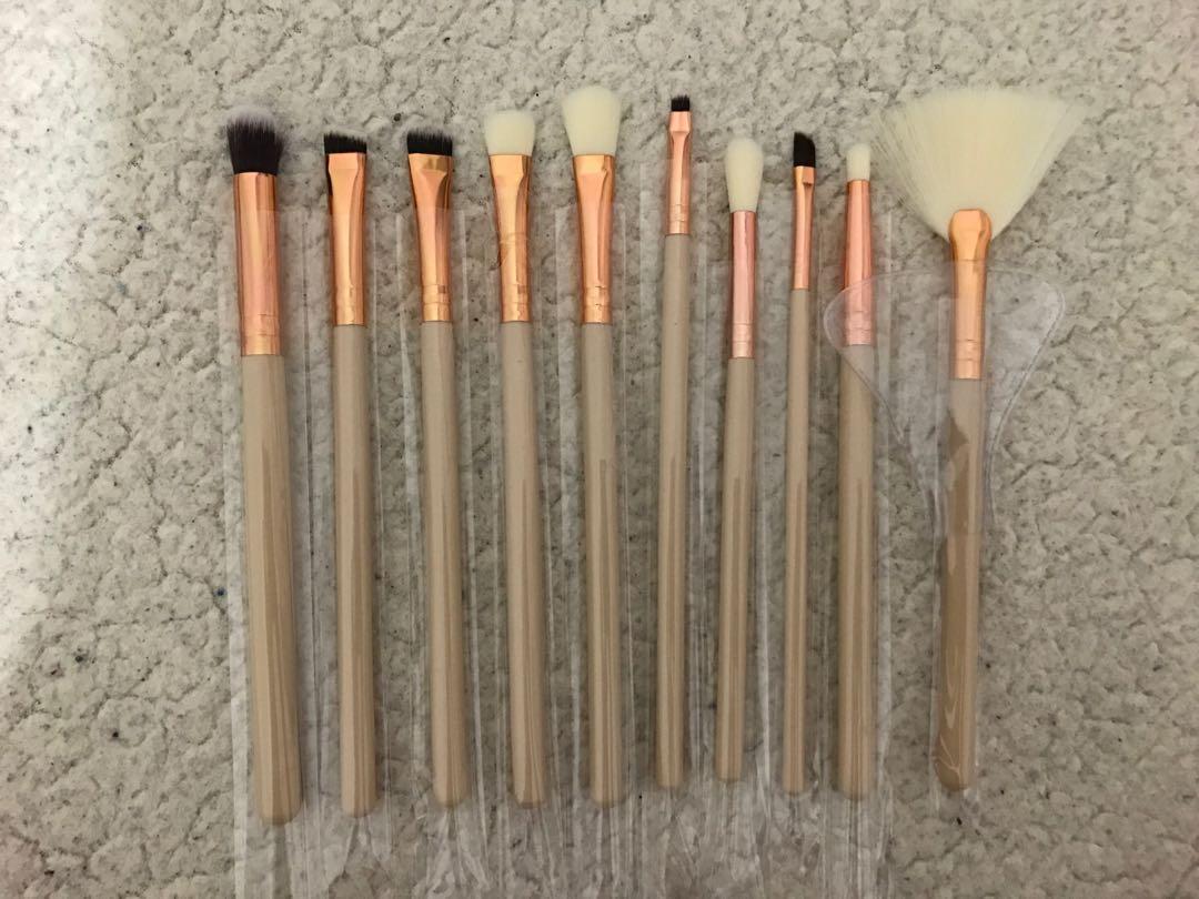 10pcs Eye Brushes