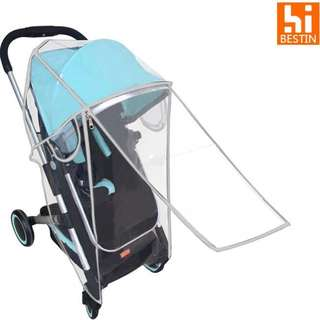 🌈(Ready Stock)💯🆕Brand New Rain Cover with Double Zipper for baby stroller/pram