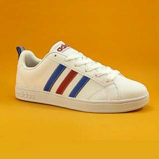 SALE! | SIZE 8 Preloved Adidas Authentic - Blue Red Stripes