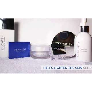 Helps Lighten the Skin Set D