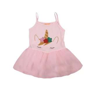 Brand new pink unicorn tulle dress