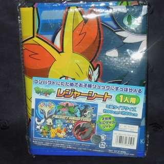 Pokemon XY Beach picnic Mat 野餐墊