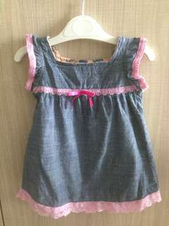 Romper gown jeans
