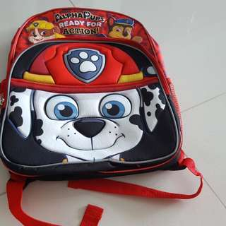 Paw patrol Marshall backpack