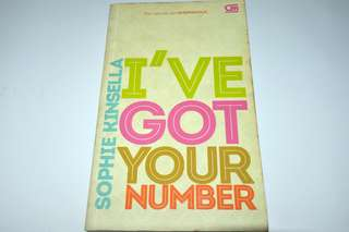 Novel I've Got Your Number - Sophie Kinsella