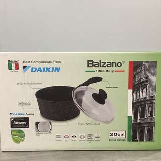 Balzano 20cm Sauce Pan (Induction and Gas Stove use)