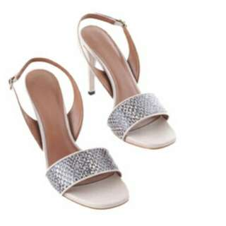 Bnew Charles & Keith Sling Back Sandals