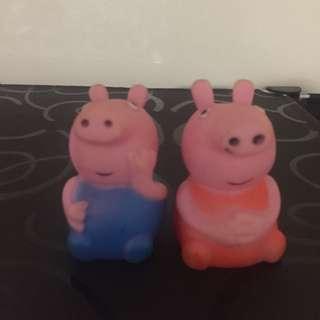 Peppa Pig Bath Buddies