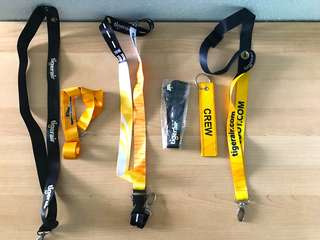 Tigerair Scoot Lanyards