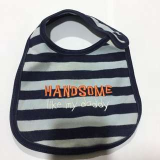 Handsome Like My Daddy Bib Just One You made by Carter's One Size P250