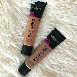 Loreal Infallible Pro Matte Total Cover Foundation