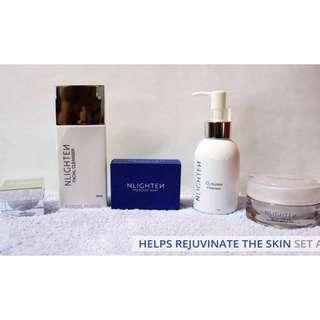 Helps rejuvenate the Skin Set A