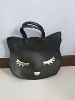 BN cat face handbag