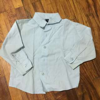 Nautica Powder Blue Polo Size 3T P150 Only