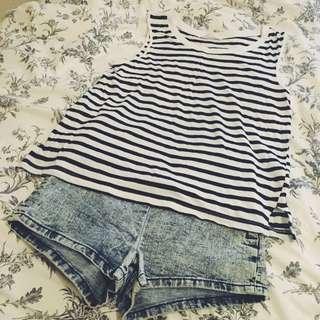 🚚 🗣FOREVER 21牛仔短褲