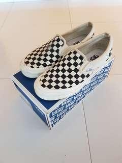 Vans vault og checkerboard slip on