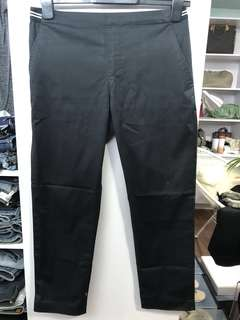 Uniqlo Black Office Pants W30 L33 - Preloved, Excellent Condition
