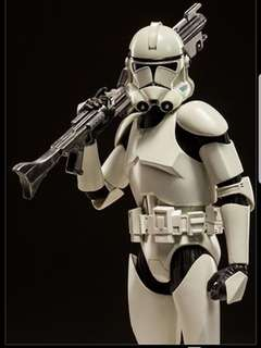 Sixth scale clone trooper starwars